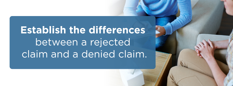 medical billing claim and denied claims